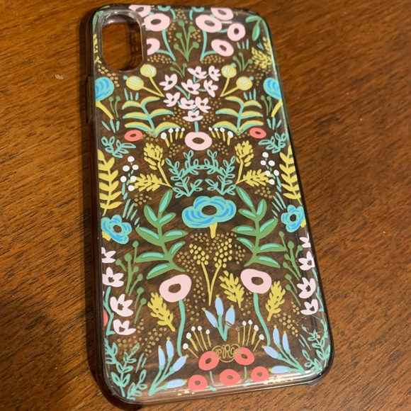 iPhone X XS case Rifle Paper Kate Spade Otterbox